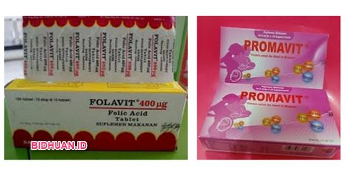 Suplemen Ibu Hamil Promavit VS Folavit, Mana yang lebih Baik