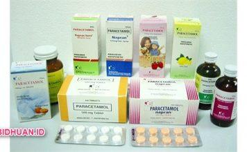 Obat Paracetamol Obat Bebas Golongan Analgesik dan Antipiretik