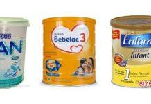 4 Merk Susu Formula Terbaik untuk Bayi 0-12 bulan