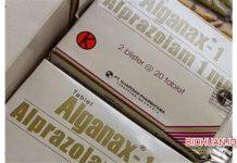 Alganax (Obat Penenang) - Komposisi Dosis Efek Samping Tempat Jual dan Harga