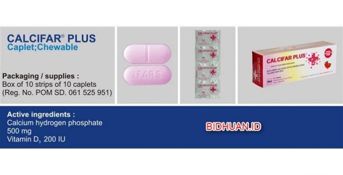 Calcifar Plus - Manfaat Obat Aturan Minum Efek Samping dan Harga