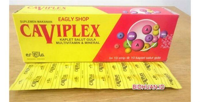 Caviplex Tablet atau Syrup - Manfaat Dosis Efek Samping dan Harga