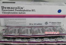 Demacolin Obat Apa - Fungsi Dosis Efek Samping dan Harga