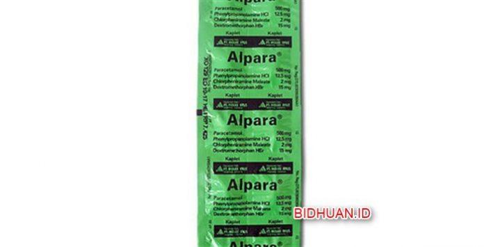 Obat Alpara - Kegunaan Komposisi Efek Samping Dosis dan Harga