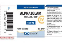 Obat Alprazolam - Kegunaan Dosis dan Harga Jual