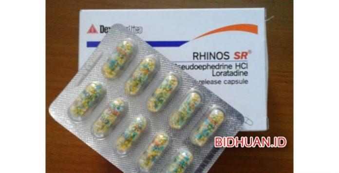 Obat Rhinos SR - Efek Obat Cara Penggunaan Harga Dosis Dewasa dan Anak