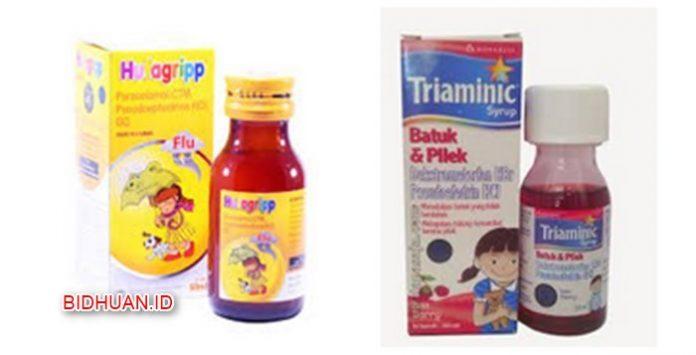 12 Obat Batuk Pilek Anak di Apotik Herbal dan Tradisional Lengkap