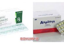 Aspilet Atau Aspirin Mana Yang Lebih Baik - Kekurangan, Kelebihan dan Harga