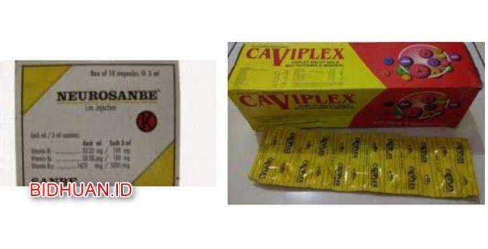 Caviplex atau Neurosanbe - Suplemen Merk Vitamin yang Bagus untuk Daya Tahan Tubuh