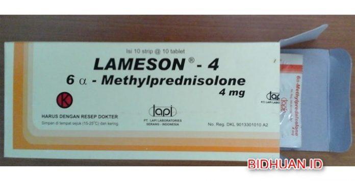 Lameson - Obat Keras untuk Mengobati Peradangan,Rematik Eksim Asma hingga Lupus