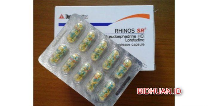 Rhinos sr - Obat Dekongestan untuk Mengatasi Hidung Tersumbat, Bersin, Flu dan Harga di Apotik