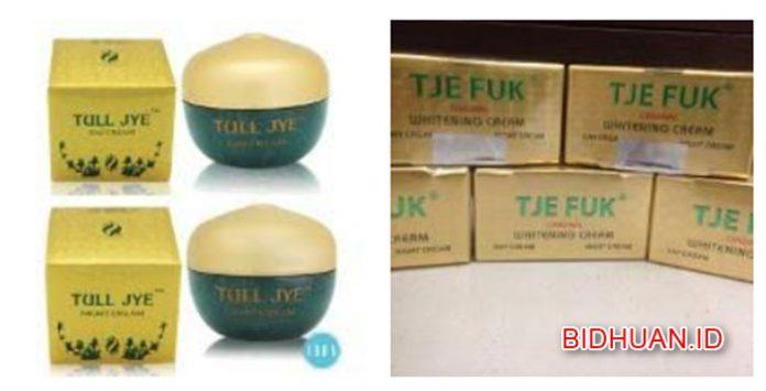 Tje Fuk, Tull Jye Ataukah Cream Pemutih Wajah Ja Hwa Yang Efektif untuk Menghilangkan Jerawat