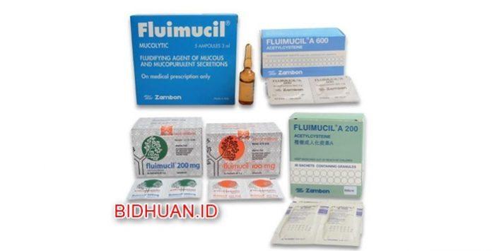 Fluimucil - Kegunaan obat Dosis Kontraindikasi Efek Samping dan Harga