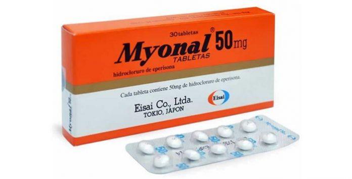 Myonal (Obat Kejang Otot) - Kegunaan Dosis Harga dan Efek Samping