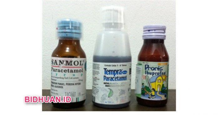 Proris Syrup Sanmol dan Tempra untuk Obat Penurun Panas