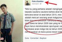 Akun Facebook Putra Kandias dari 2035 Sudah Diketahui Siapa Pemilik Sebenarnya