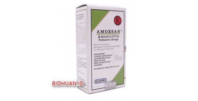 Amoxsan - Kegunaan Dosis Efek Samping dan Harga di Apotik