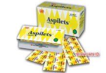 Aspilet - Dosis Pemakaian Indikasi Serta Efek Samping dan Harga Obat