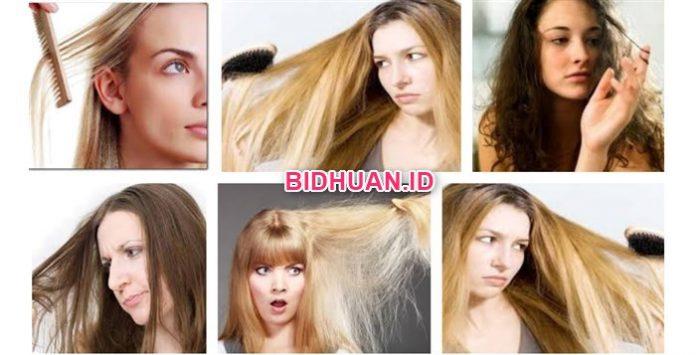 20 Cara Mengatasi Rambut Kering Kusam Rontok dan Bercabang Untuk Pria dan Wanita