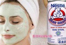Susu Bear Brand Untuk Masker - 7 Manfaat dan Beberapa Campuran Bahan Alami Pembuatnya