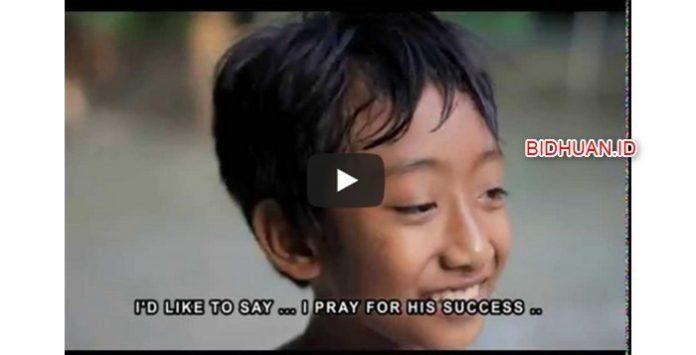 Lugunya Anak SD tentang Presiden Jokowi dan Korupsi