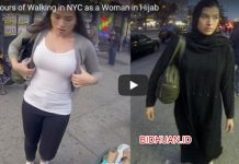 Wanita Dengan dan Tanpa Hijab di Youtube