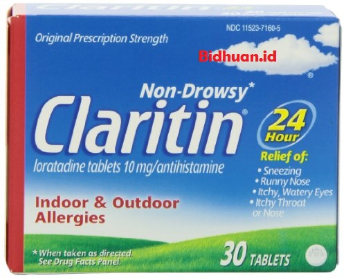 Obat biduran yang mengandung Antihistamin