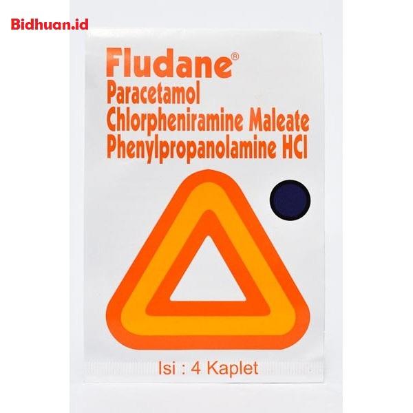 Obat flu dan batuk dengan Fludane Plus