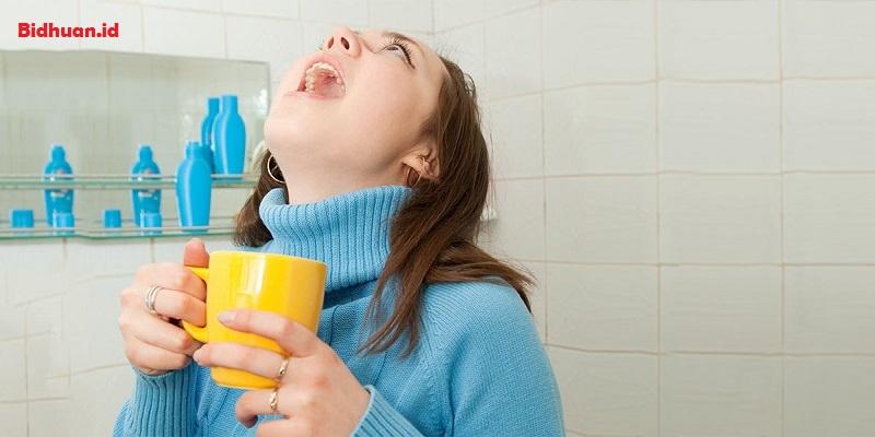 Obat Gusi Bengkak Dengan Air Hangat
