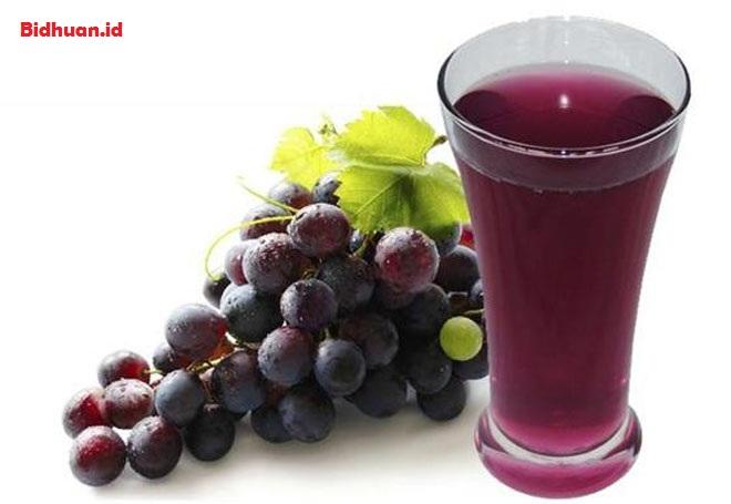 Menurunkan Kolesterol Dengan Jus Anggur