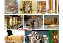 3 Kerajinan dari bambu yang Unik dan Cara Membuatnya dengan Mudah