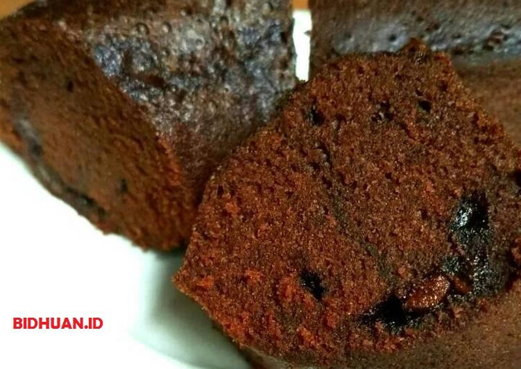 Resep Brownis Kukus Chococips