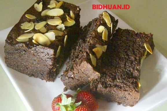 Resep Brownis Kukus Kacang Almond