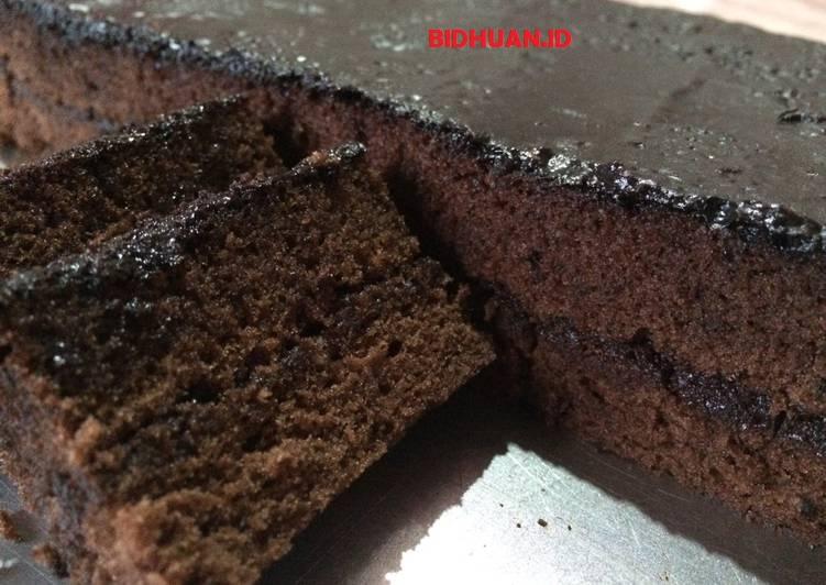 Resep Brownis Kukus Lapis Coklat