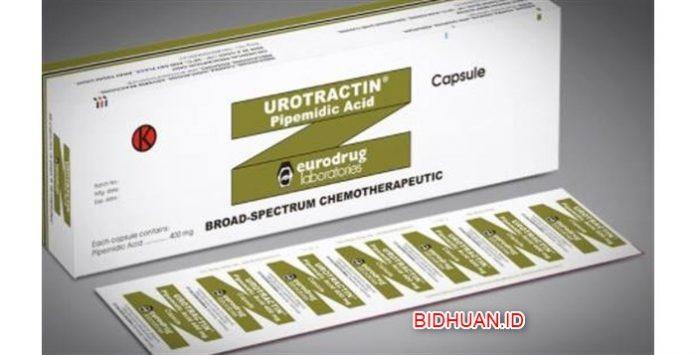Urotractin Obat Anti Bakteri Sintetik Untuk Infeksi Saluran Kemih dan Prostat
