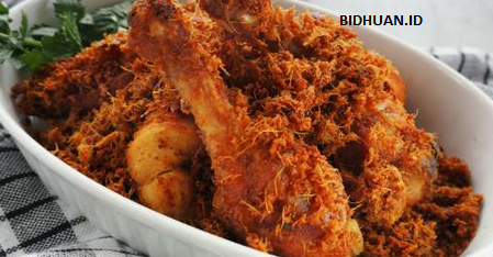 resep ayam kremes laos