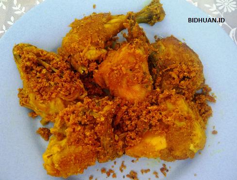 resep ayam kremes padang