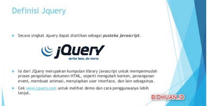 Belajar Jquery - Dasar Penggunaannya Jquery Dom Manipulation dan Jquery Animation