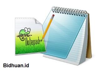 Lembar Kerja Notepad dan Notepad++
