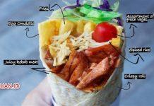Resep Kebab Turki - Cara Membuat Kulit Kebab dan Aneka Topping Kebab