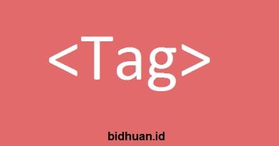 Tag Pada HTML