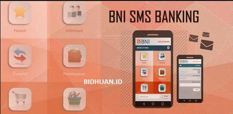 cara menggunakan sms banking bni di android