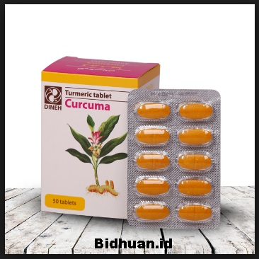 Manfaat Curcuma Tablet