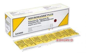 Neurosanbe Plus - Komposisi Indikasi Manfaat Dosis dan Efek Samping