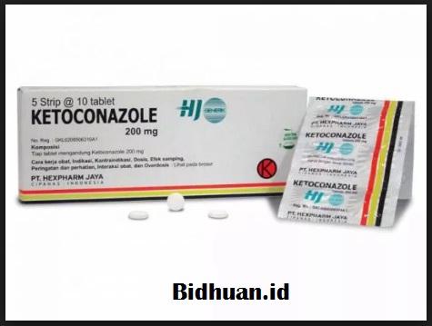 Obat Panu Tablet Ketoconazole