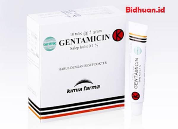 Obat bisul dengan menggunakan gentamicin