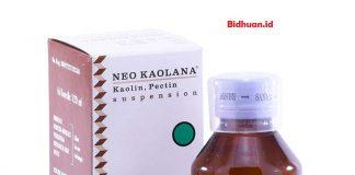 Obat diare menggunakan Neo Kaolana