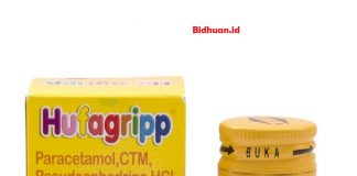Obat flu anak dengan menggunakan Hufagrip Flu