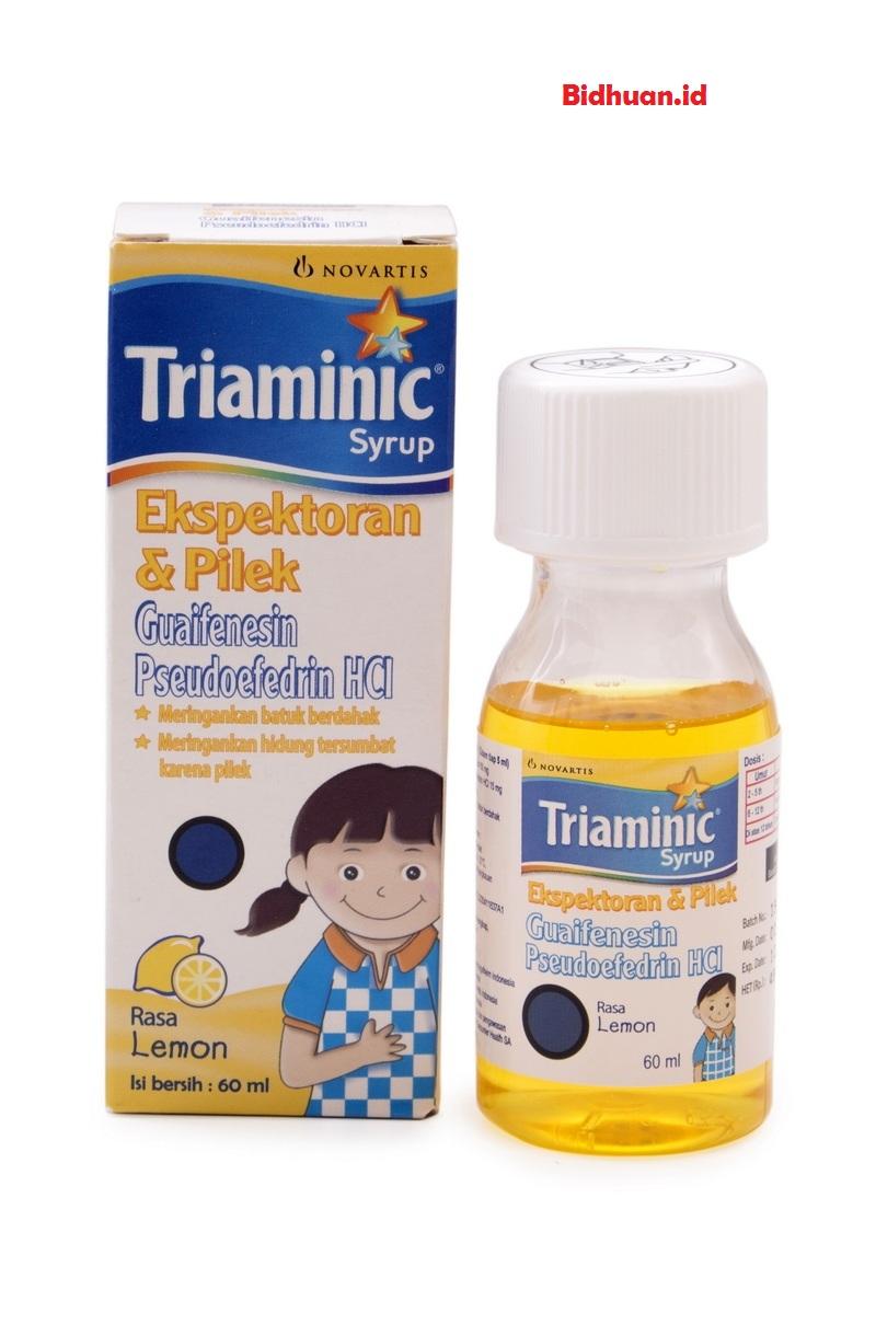 Obat flu anak menggunakan Triaminic Anak