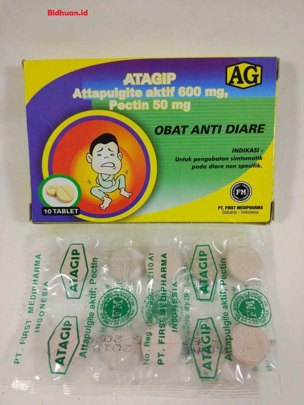 Obat mencret menggunakan Atagip
